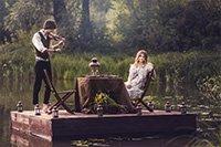 Свадебная фотосессия - Плот любви